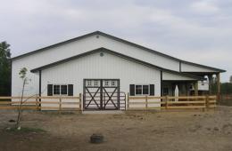 Horse barn/Arena - Springfield, MB