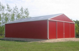 Pole shed - Selkirk, MB