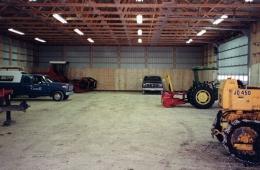Equipment storage - Ste. Agathe, MB