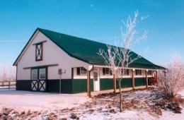 Post frame barn - Headingley, MB