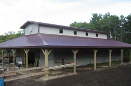 Horse barn - Oakbank, MB