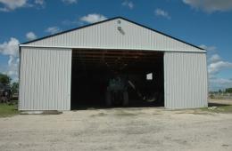 Metal shed - Sanford, MB
