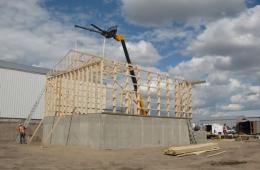 Pole building - Brandon, MB