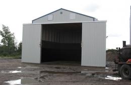 Metal pole shed - Brandon, MB