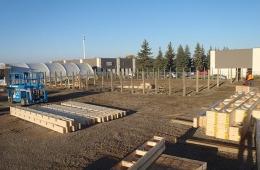 Warehouse - Start of project in Regina, SK