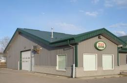 Steel building - St. Norbert, MB