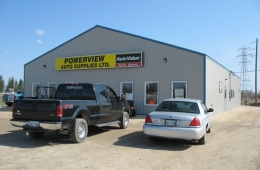 Post frame shop - Powerview, MB