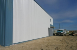Steel shed - Anola, MB