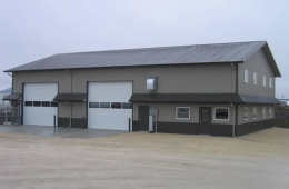 Steel building - Garson, MB