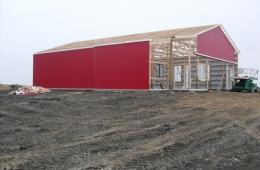 Pole shed - La Salle, MB