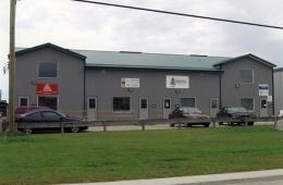 Steel building - Thompson, MB