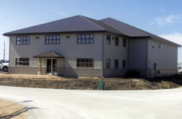 Steel clad building - St. Rose du Lac, MB