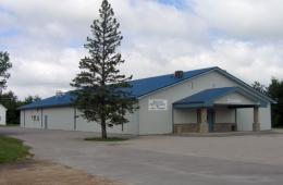 Metal building, Riverton, MB