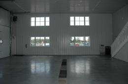 Metal interior - Winnipeg, MB