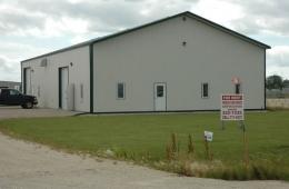 Steel building - Winnipeg, MB