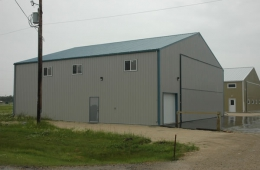 Airplane hangar - St. Andrews, MB