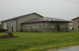Metal building - Dufresne, MB