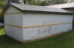Building before new metal material