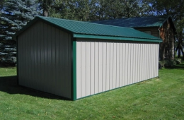 Building after new metal installed