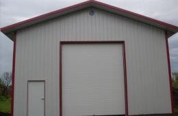 Post frame garage - St. Pierre, MB